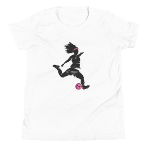 Youth Motion Blur Lady Striker T-Shirt