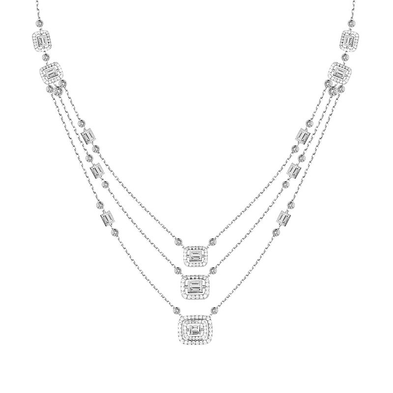 """Eternity"" Diamond Necklace"