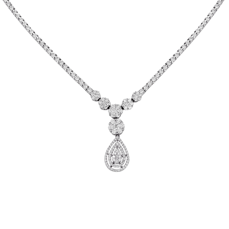 """AlNada"" Diamond Necklace"
