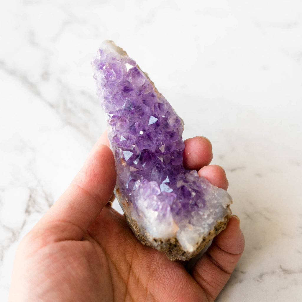 Amethyst Crystal Cluster - Purple Watermelon-Crystals-House of Alchemy