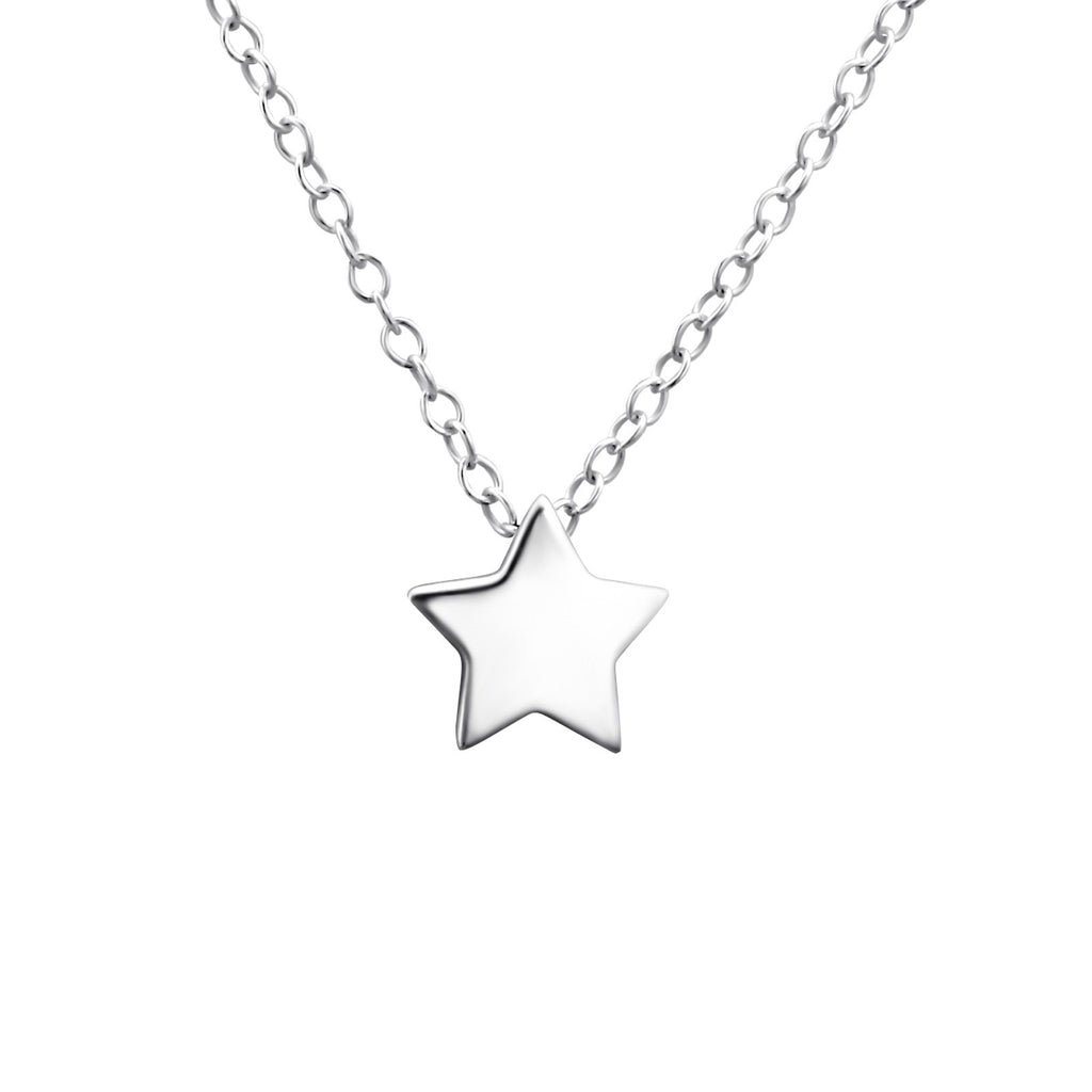 Star Necklace - Sterling Silver-Necklaces-House of Alchemy