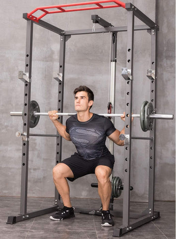different exercise of squat rack