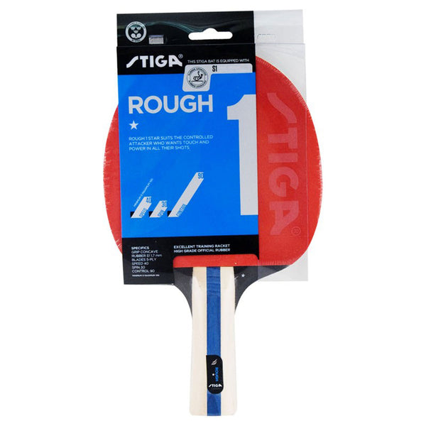 Stiga Rough Table Tennis Paddle -  1 Star