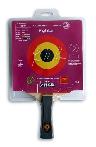 Stiga Fighter Table Tennis Paddle