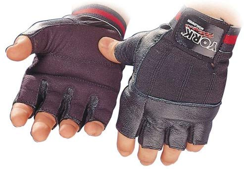 York Fitness Leather Glove - Xtra Large