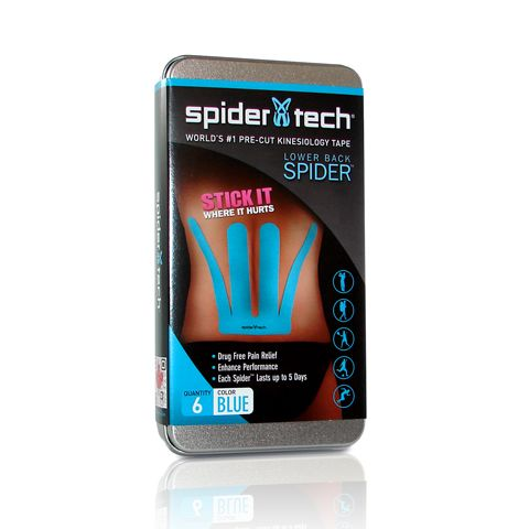 SpiderTech Lower Back Spider - Pack of 6 - Blue