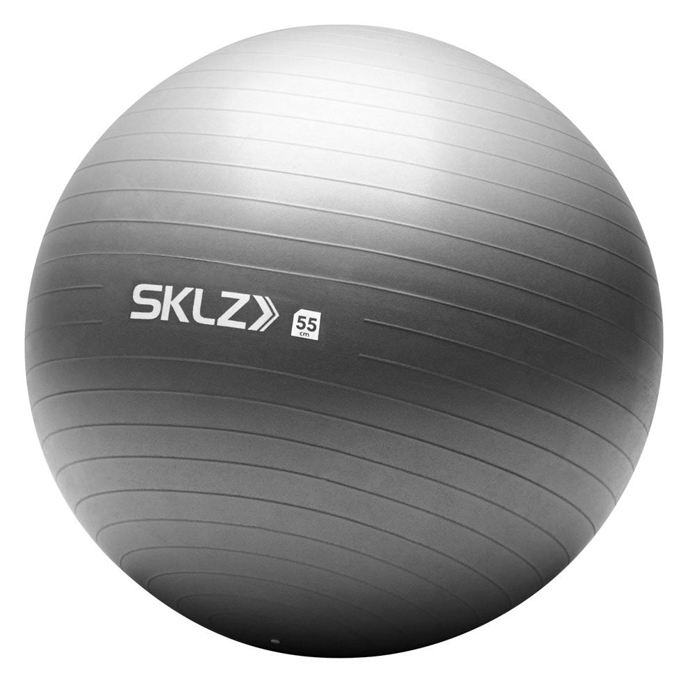 SKLZ Stability Ball (55cm) - Light Gray STAB-55-001