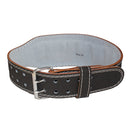 Grizzly 4 inch Enforcer Padded Genuine Leather Pro Weight Belt for Men and Women