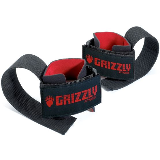 Grizzly deluxe lifting wrist straps 8614-04