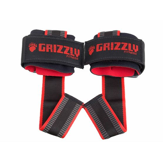 GRIZZLY SUPER DELUXE COTTON LIFTING STRAPS