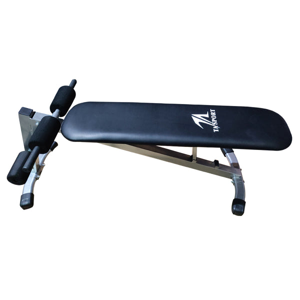 TA Sports Adjustable Flat and Decline Bench | Prosportsae