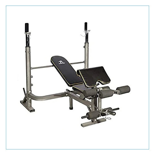 Adjustable Flat and Incline Combo Bench