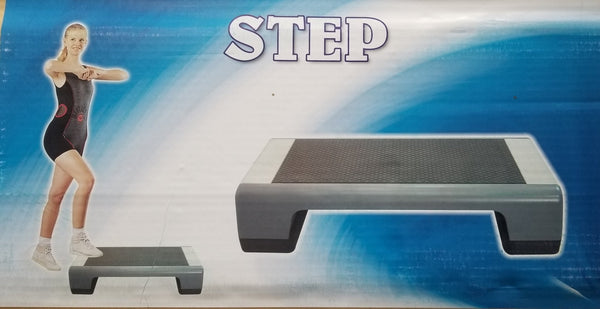 Aerobic Step Grey Black - Prosportsae.com