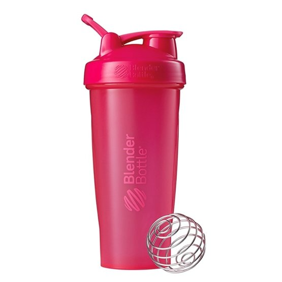 Blender Bottle Classic Loop - 28 OZ - Pink UAE - Prosportsae.com