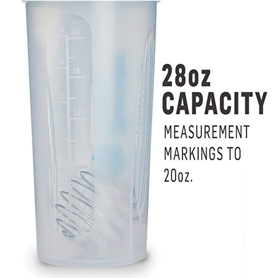 Blender Bottle Classic Loop - 28 OZ - White UAE - Prosportsae.com