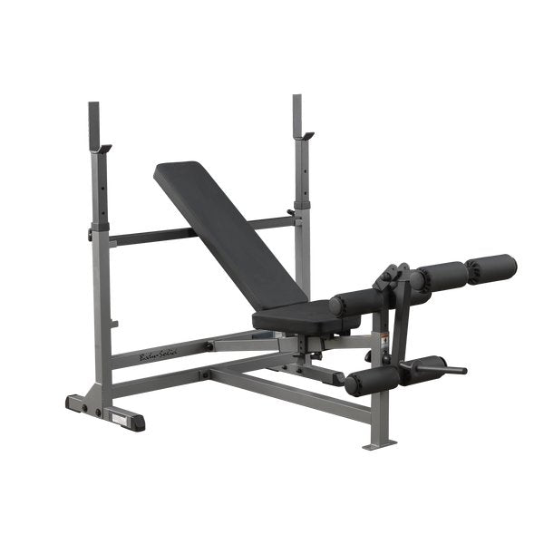 Body Solid Combo Bench with Barbell Rack - GDIB 46L - With One Year Warranty - Prosportsae.com