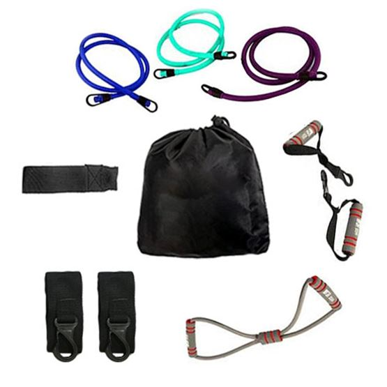 Prosports Resistance Bands with Door Anchor set
