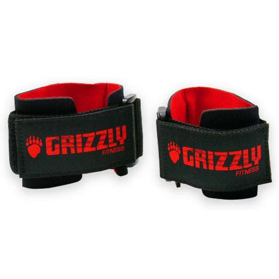 Grizzly Fitness Pro Power Weight Training Wrist Wraps for Men and Women (One-Size) UAE - Prosportsae.com