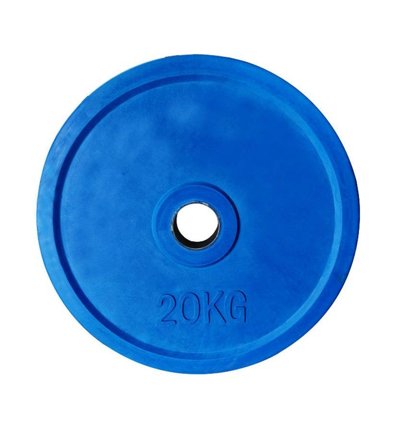 Prosportsae Colored Olympic Rubber Plates 2.5 Kg to 20 KG | Prosportsae - Prosportsae.com