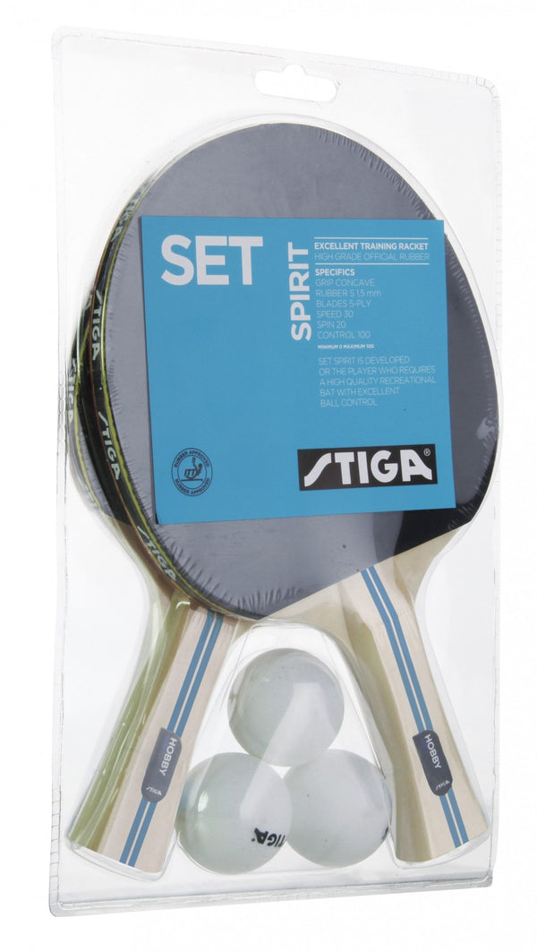 Stiga Spirit Table Tennis Set