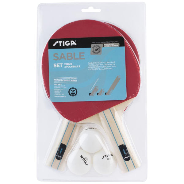 Stiga Sable Table Tennis Set