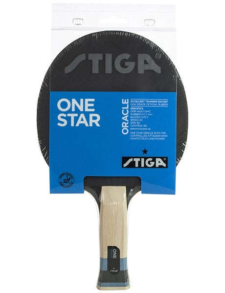 Stiga Oracle Table Tennis Paddle - 1 Star