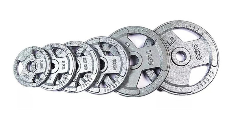 TA Sports Metal Olympic Spray Painted Premium Quality Weight Plates-Sold as Per Piece (2.5 to 20 KG) by Prosportsae - Prosportsae.com