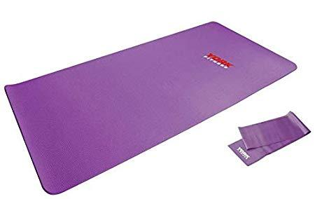 York Fitness Yoga Pilates Mat with Resistance Band - Prosportsae.com
