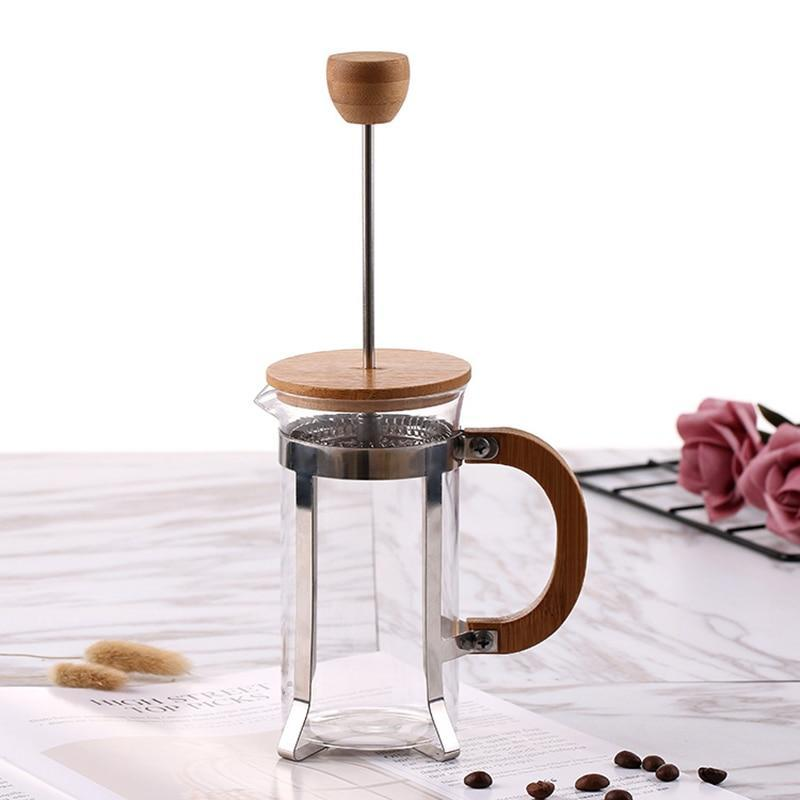 Coffee Pots Bamboe French Press Voor Koffie en Thee
