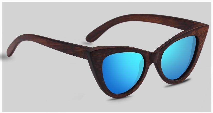 Sunglasses Blauw The Cat Eye