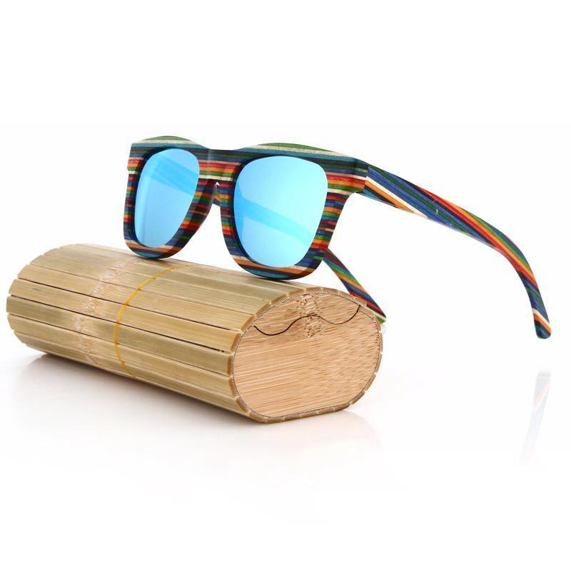 Sunglasses Blauw The Funky Zebra [LIMITED EDITION]