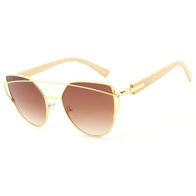 Sunglasses Goud/Bruin The Night Owl