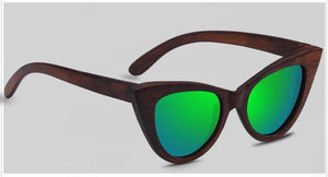 Sunglasses Groen The Cat Eye