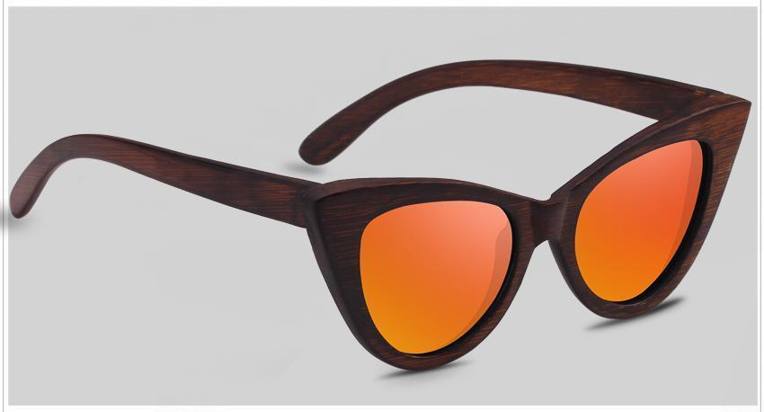 Sunglasses Oranje The Cat Eye