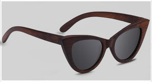 Sunglasses Zwart The Cat Eye