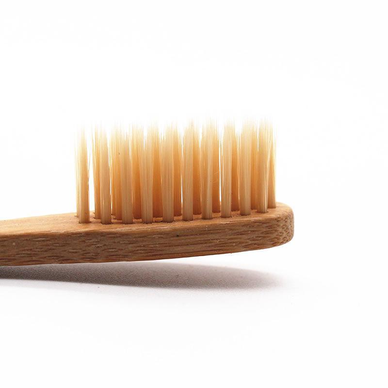 Toothbrushes 10-pack Bamboe Tandenborstels [50% FAMILIE KORTING]