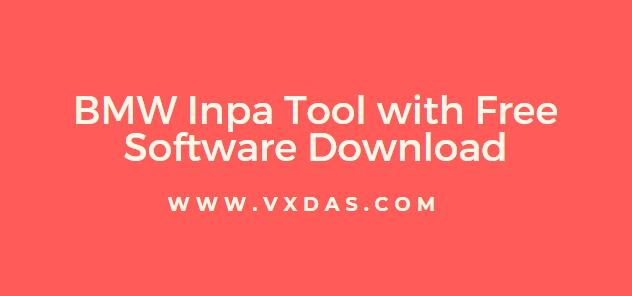 BMW Inpa Interface Full OBD2 Diagnostic Tool Cable with Free Software Download