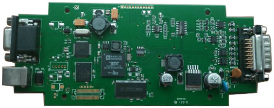 Volvo 88890300 Vocom PCB Display: