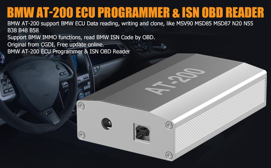 BMW AT-200 ECU prgrammer & ISN OBD Reader