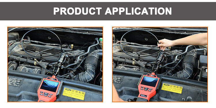 Car pipe inspection industrial endoscope