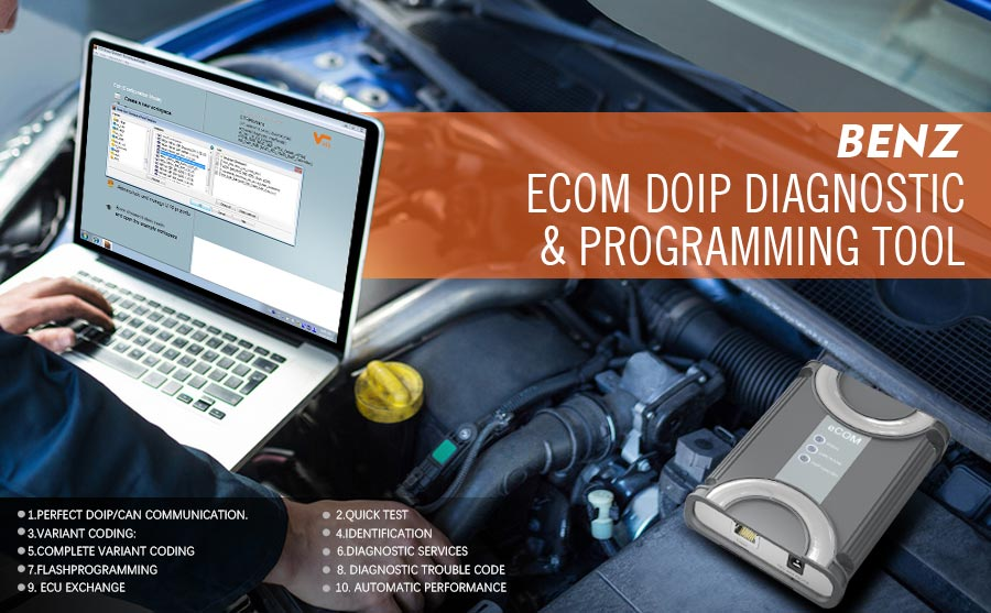 ECOM Doip Diagnosis and Programming Kit
