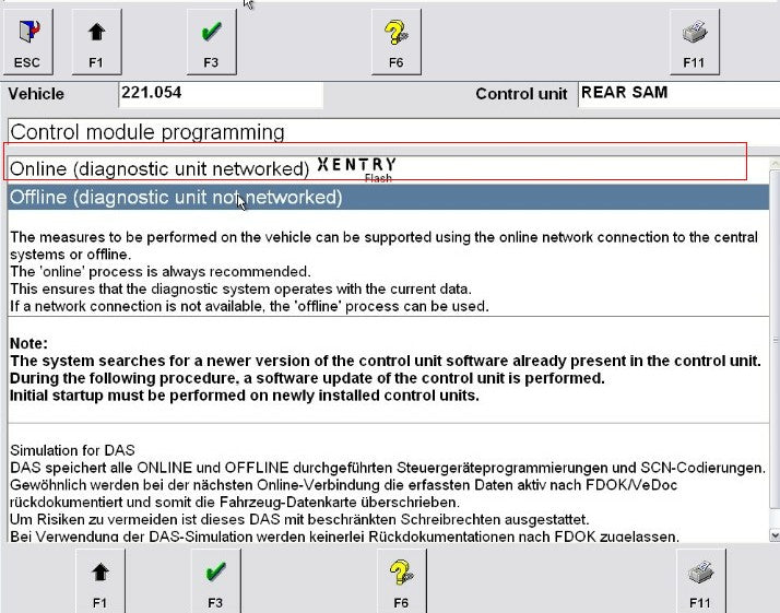 Star diagnosis Online scn coding for mb star c4/c5 Benz Online