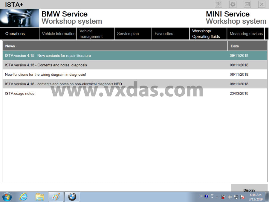 BMW Diagnose Software Ista D 4 14 BMW Rheingold Free