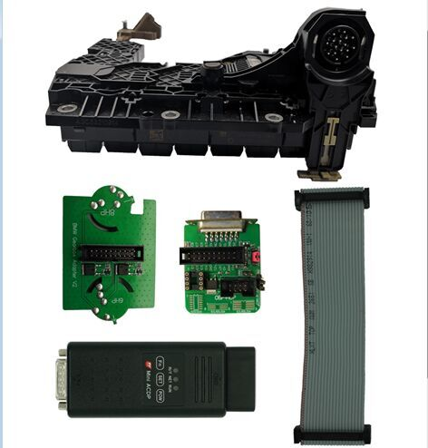 Prepare ACDP, OBP+ICP adapter, EGS interface board and EGS module.