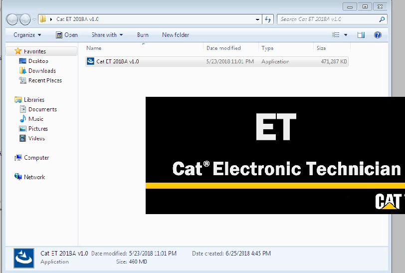 cat et 3 software