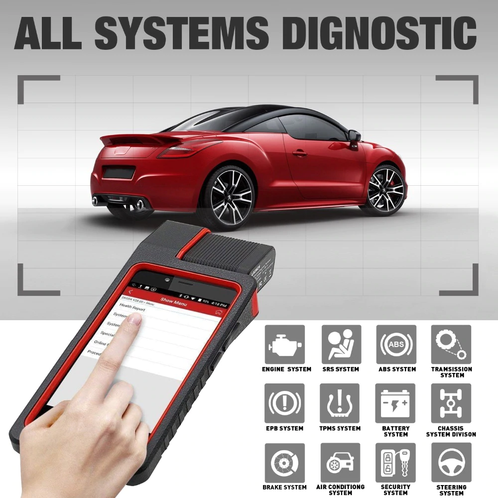 LAUNCH X431 DIAGUN V Full System Scan Tool