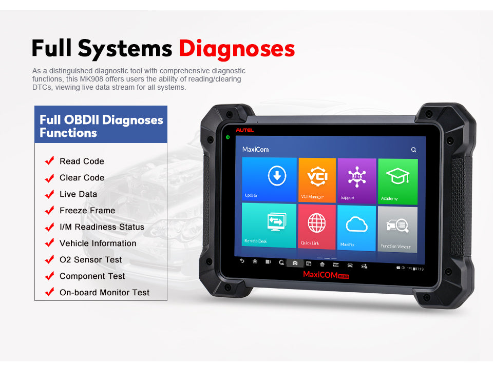 full obd diagnostic