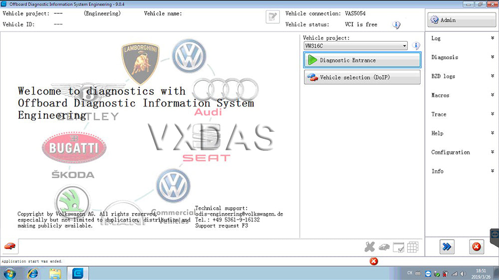ODIS VW Software 5 1 3 ODIS Engineer 9 0 4 Support VAG Group Online