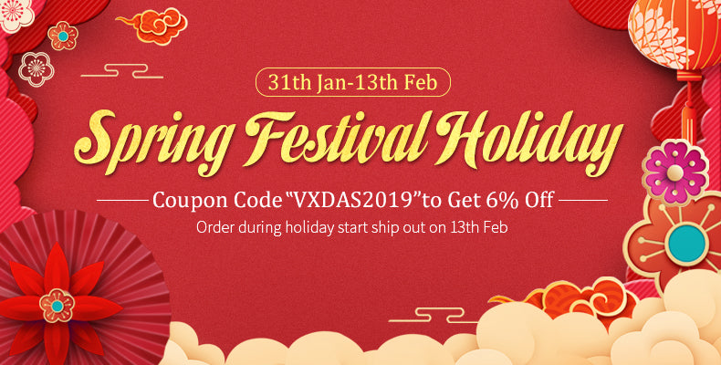 2019 Spring Festival Holiday Promotion