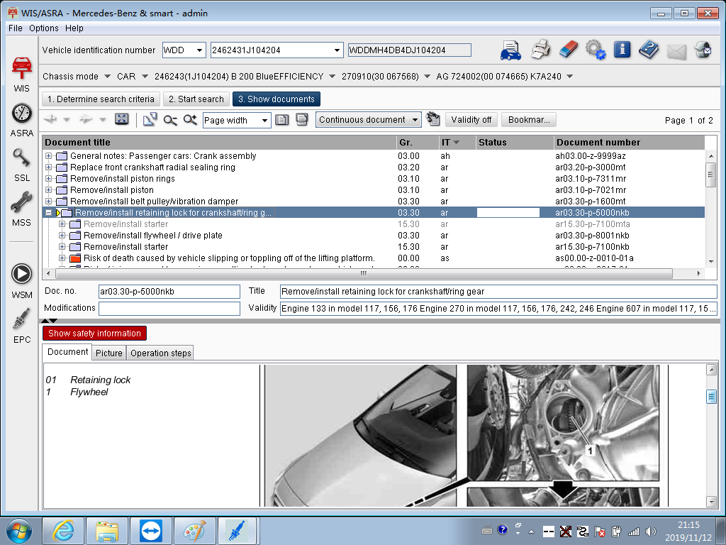 MB Star Diagnostic Xentry WIS Software
